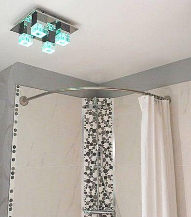 41 best images about le rideau de douche sa place dans for Rideau douche italienne