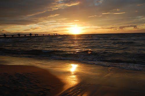 Miedzyzdroje Baltic Sunset