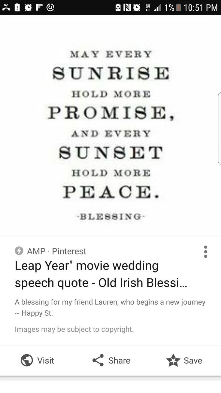 Irlandes Boda Menu Poemas Hermosa
