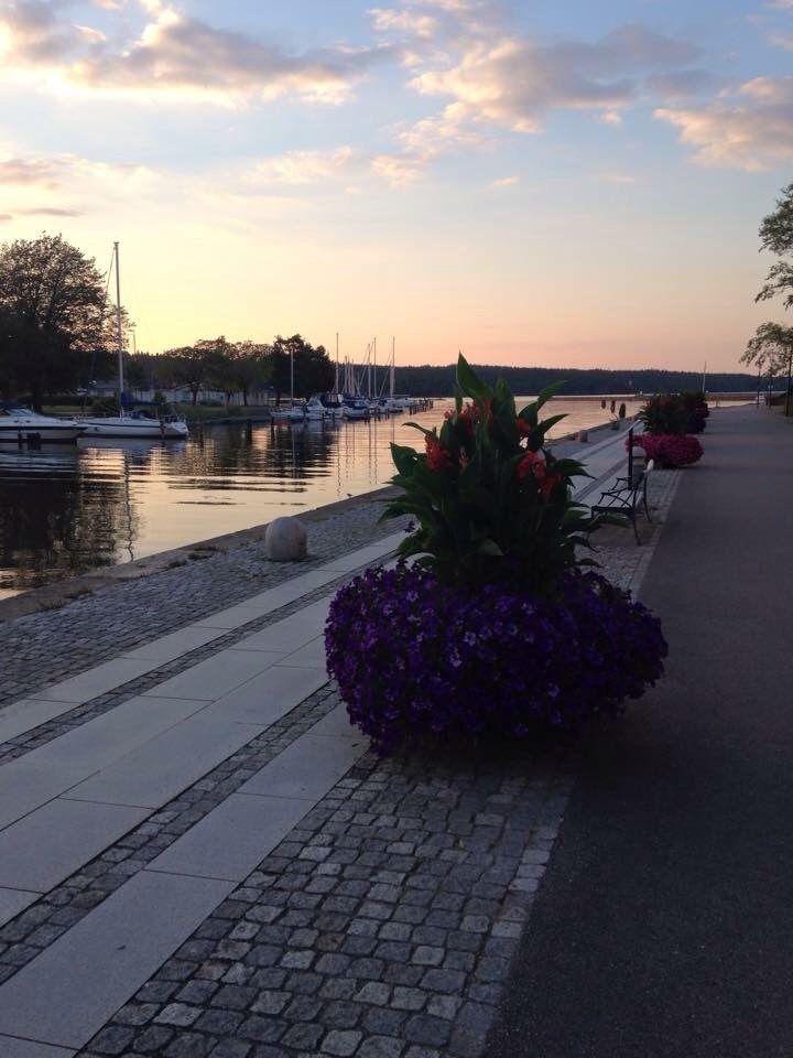 #Vänersborg # nature #sky #colorful #lake #flowers