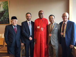 Matahari Persyarikatan: Din Syamsuddin Hadiri Pertemuan Para Tokoh Agama D...