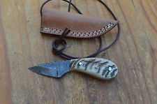 Дамаск сделанный на заказ шею kiridashi нож из орла коллекция ASM5889
