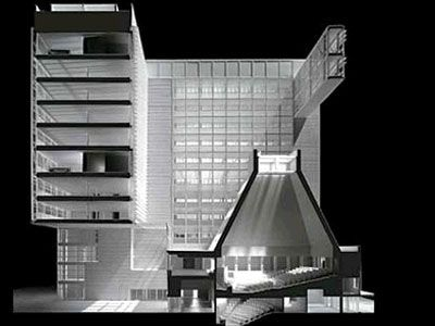 Direktionszentrum Banca Lombarda  / Gregotti Associati