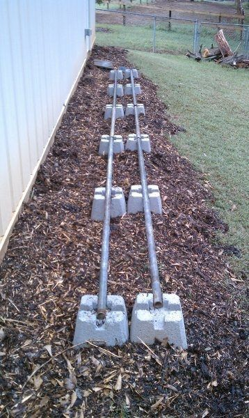 25 best ideas about concrete footings on pinterest deck for Best weather to pour concrete