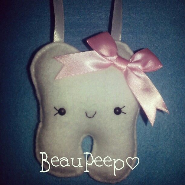 Tooth fairy pillow @ BeauPeep