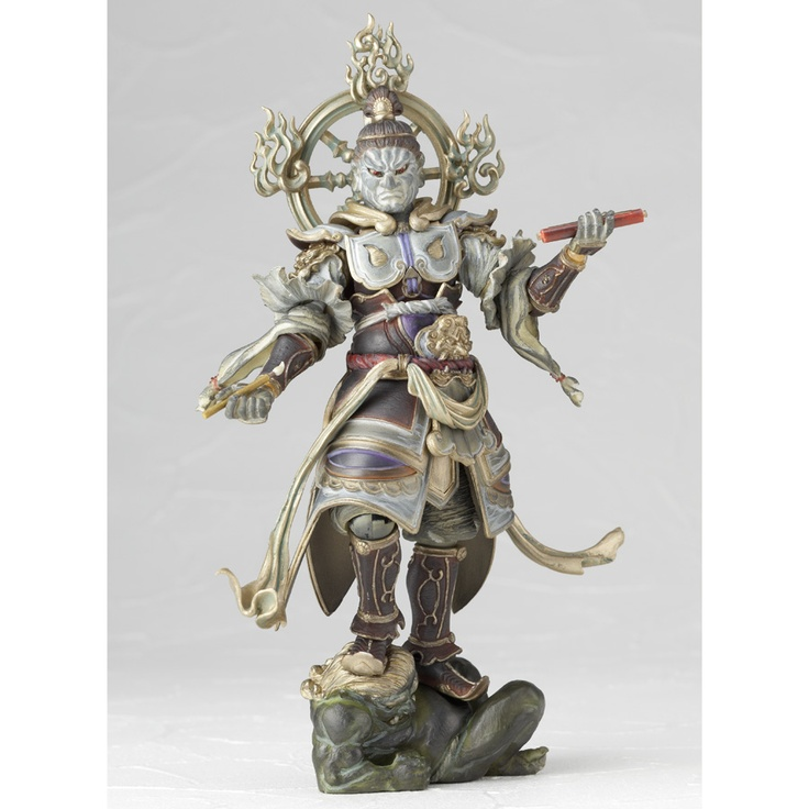 More of the Buddhist heaven and hell demon action figures