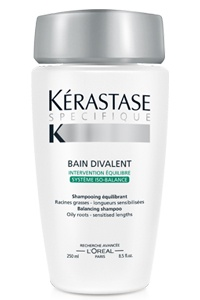 My Favourite! Oily roots and sensitised ends  Kerastase bain divalent
