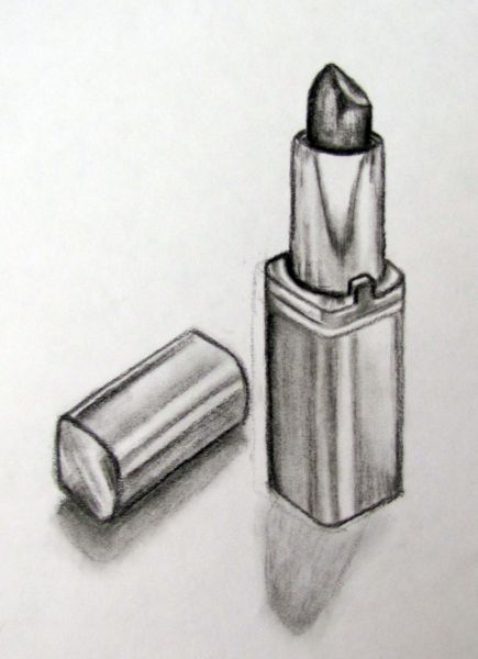 Charcoal Observational Drawings