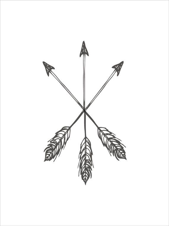 Arrow Print Wall Print Black And White Arrow Silhouette Etsy In 2020 Arrow Silhouette Arrow Art Arrow Tattoos For Women