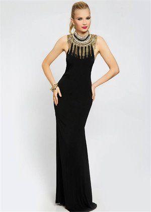 85 best long black prom dresses 2015 images on Pinterest ...
