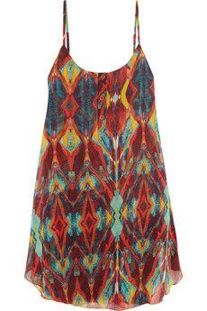 Alice   Olivia Rhi printed chiffon dress | THE OUTNET