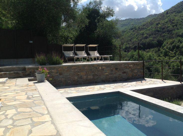 The pool at Apricus Locanda