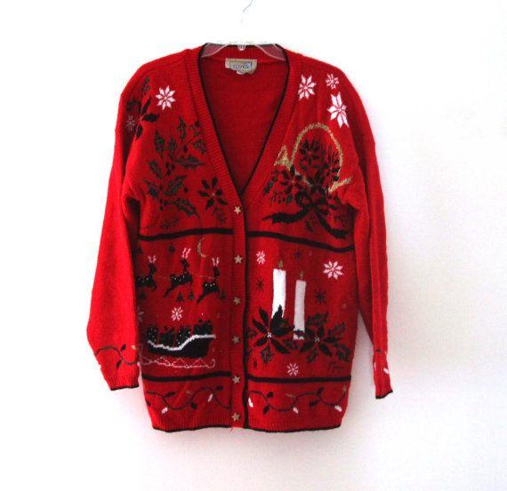 84 best Vintage Christmas Sweaters images on Pinterest   Vintage ...