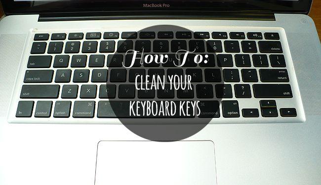 How To Clean Keyboard Keys (Macbook Pro).