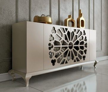 modern sideboards, white sideboard, luxury furniture, For more sideboards ideas visit: http://www.bocadolobo.com/en/index.php