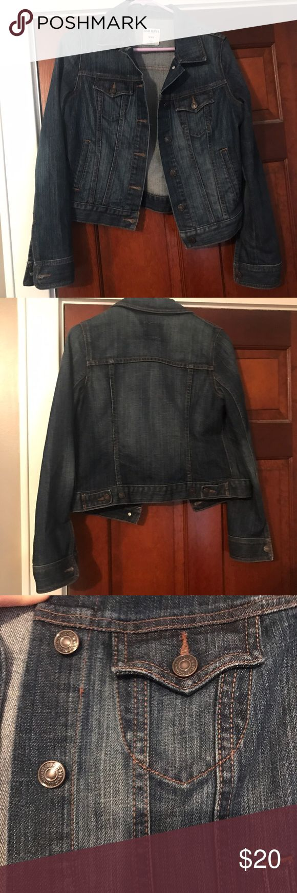 Old Navy Jean Jacket Denim jacket from Old Navy. In great condition. Old Navy Jackets & Coats Jean Jackets