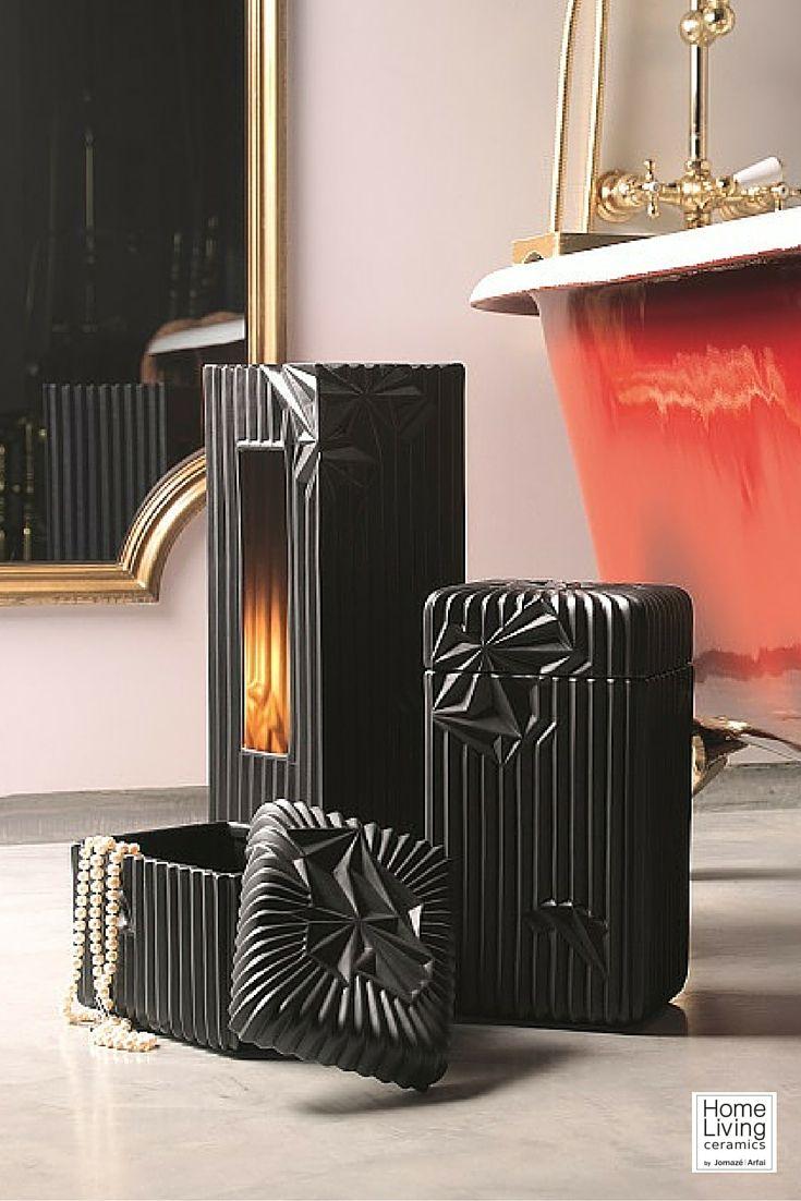 Luxury interiores by Home Living Ceramics | #design #ceramics #product #luxury #lamp #bathroom #box #jewels