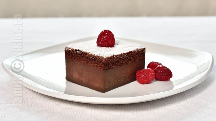 Chocolate magic cake | JamilaCuisine