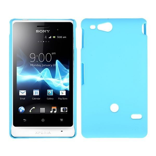 Hard Shell (Lyse Blå) Sony Xperia Go Deksel