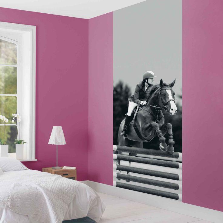Décoration murale jumping cheval équitation dans votre maison http www