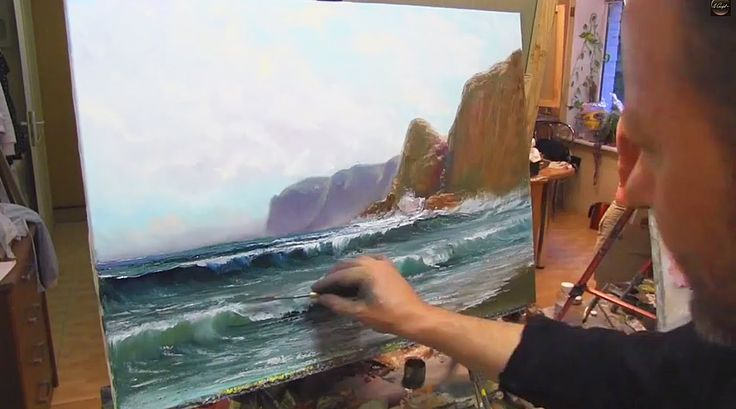Научиться рисовать море. Уроки Игорь Сахаров