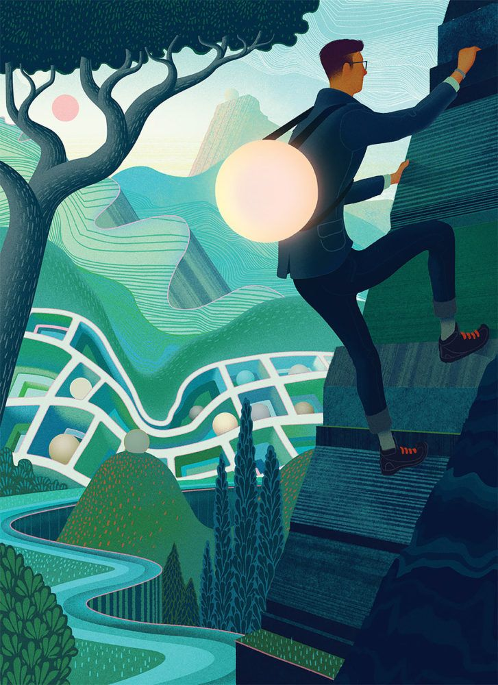 """Recent work by uber-talented British illustrator Sam Chivers (previously).  """"My…"""