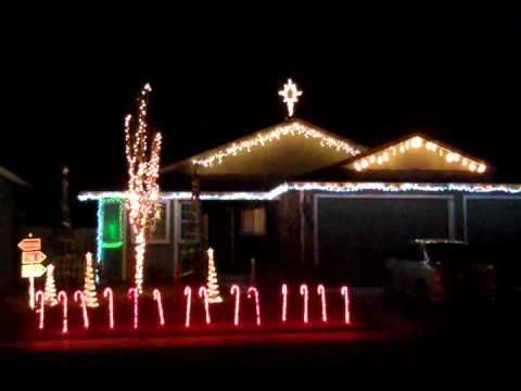 Christmas Light Show    NUTROCKER    Fernley, NV