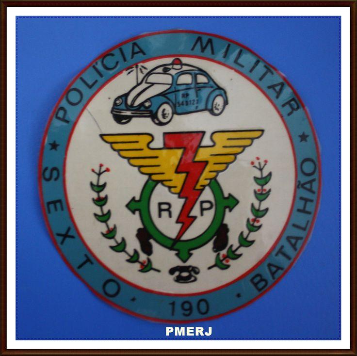 RADIO PATRULHA - 6ª BPM POLÍCIA MILITAR ESTADO DO RIO DE JANEIRO (PMERJ) GVA