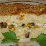 #Рыбный_пирог с грибами