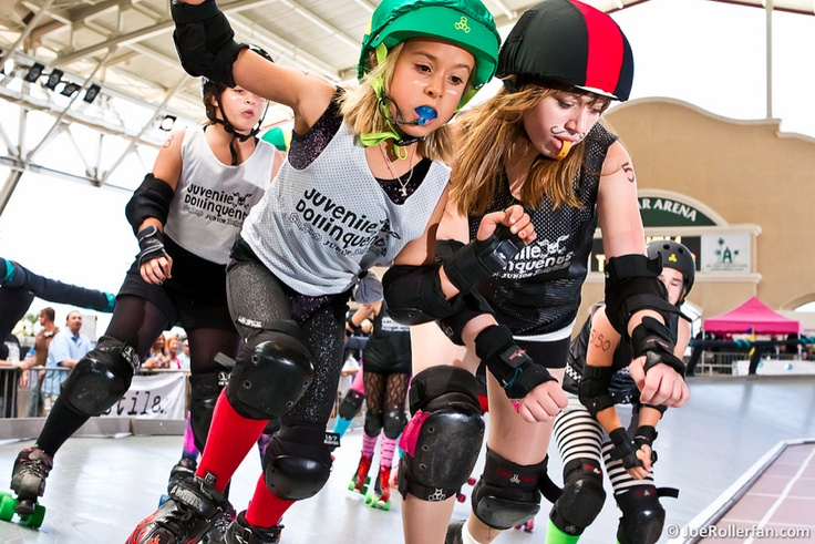 Junior Roller Derby.  I want this to be a thing so badly.