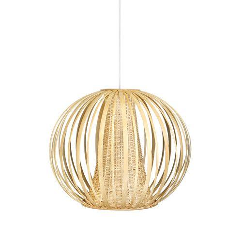 Found it at Wayfair.ca - Handwoven 1 Light Globe Pendant