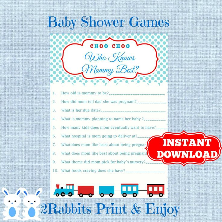baby shower game who knows mommy best transportation baby shower