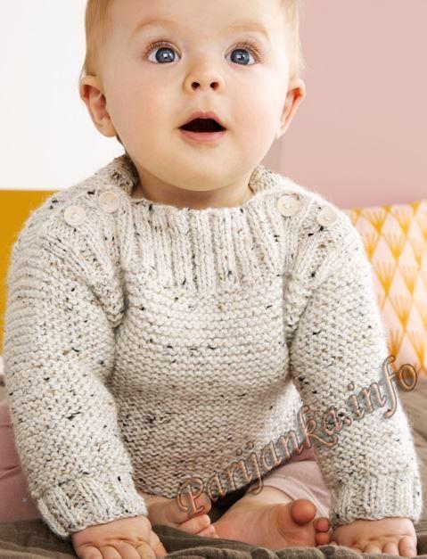 Пуловер (д) 23*127 Phildar №4874