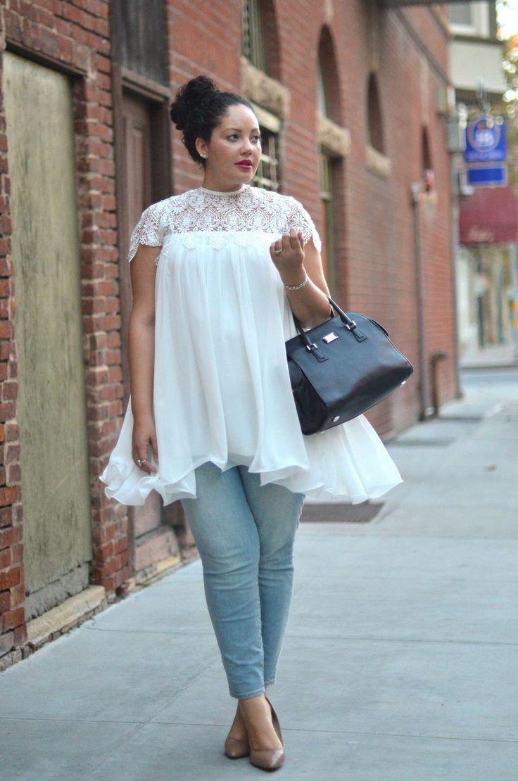 Styling-Tipps für Mollige: Diese Mode macht schlank!                                                                                                                                                                                 Mehr