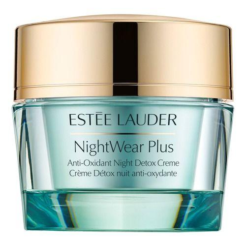 NightWear Plus Anti-Oxidant Night Detox Крем для лица ночной восстанавливающий Estee Lauder Ночной крем с насыщенной и одновременно невесомой текстурой способствует очищению кожи от загрязнений окружающей среды, делает ее более гладкой и уменьшает видимость пор. Ночной крем гарантирует интенсивное увлажнение и защиту от преждевременных признаков старения.  Формула нового ночного крема, обогащенная уникальным комплексом высокоэффективных антиоксидантов из дневного крема DayWear, дарит коже…