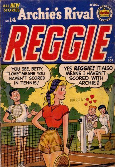 Archie's Rival Reggie 14, Archie Comic Publications, Inc. https://www.pinterest.com/citygirlpideas/archie-comics/