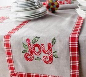 Χριστουγεννιάτικο Runner Joy 483 Gofis Home