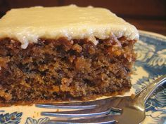 My Five Men: Prune Cake With Glazed Topping