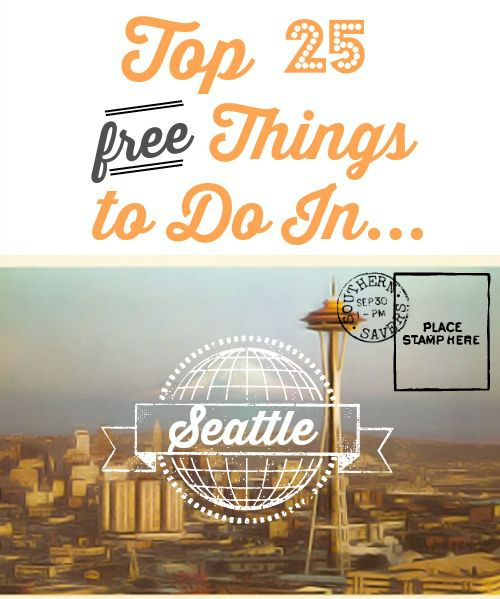 From taking pictures with the first Starbucks to touring around Seattle, check out the top 25 things to do in Seattle.  Museums, parks, gardens and more! #beveeLife