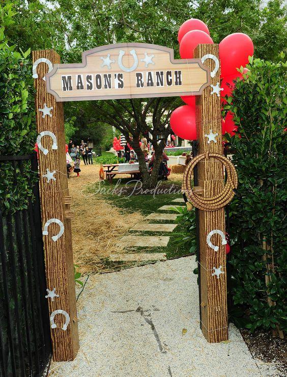ideas para decorar entradas de fiestas segn su tema