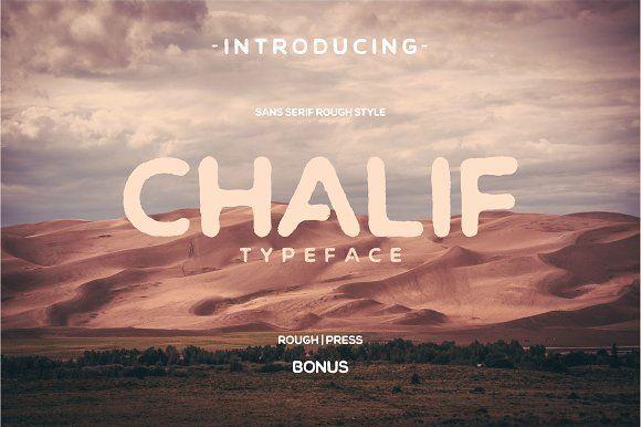 Chalif Typeface + Bonus by Viaction Type.Co on @creativemarket