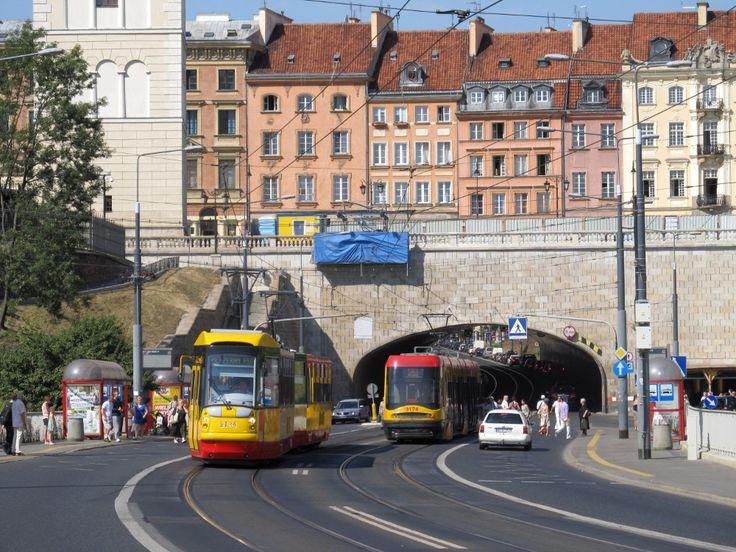 Trams in Warsaw