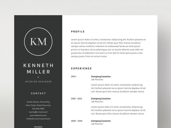 17 Best Ideas About Resume Outline On Pinterest