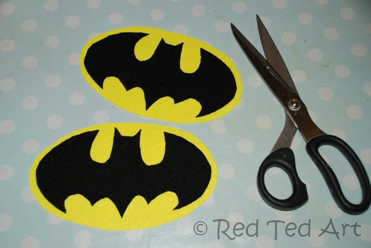 How to... Make an (Upcycled) Batman Costume - Red Ted Art's Blog ...