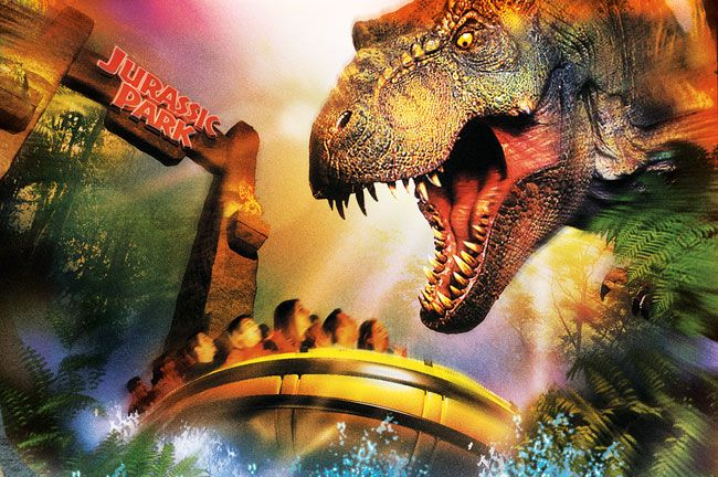 Jurassic Park River Adventure - Universal Studios, FL