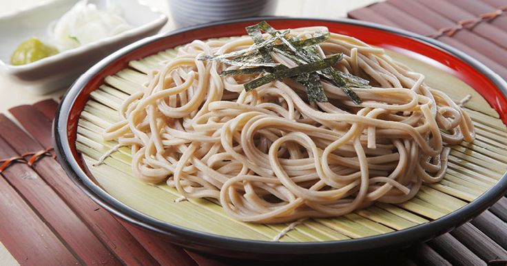 Chilled Soba Noodles with Dipping Sauce | Recipe for Kenwood by Eugene Hamilton