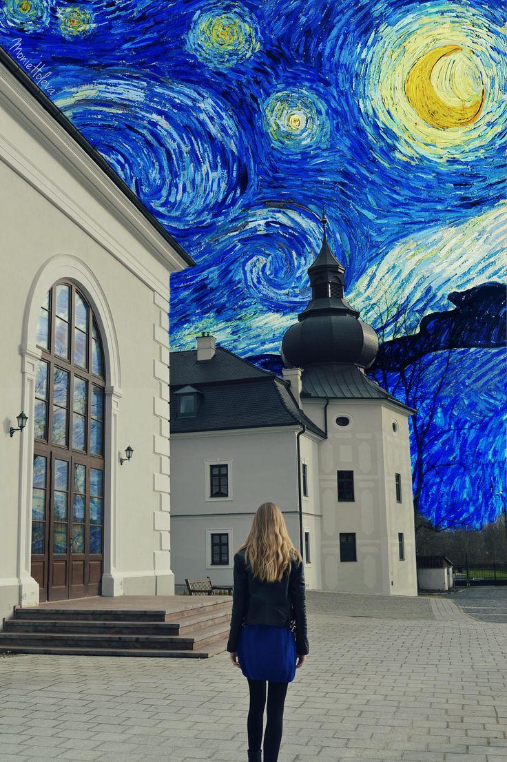 https://flic.kr/p/SZZmR4 | StARrY NiGhT | Into the starry night I go,  look at the loving souls sparkling above... . . . hope u like it :) (SelfP.) Monie Holeva / MilaraElle