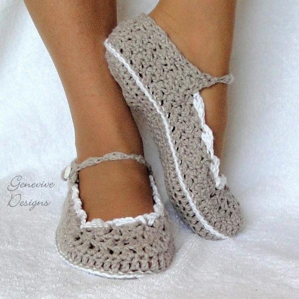 Crocheted slippers: Crocheted Slippers, Crochet Shoes, Crochet Slippers, For Women, Skinny Flats, Crochet Patterns, Craft Ideas, Kid