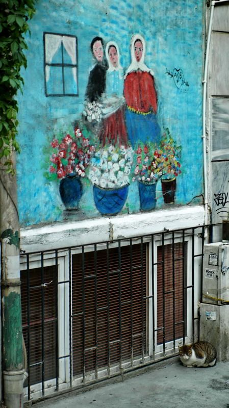 Street art - Istanbul. Our tips for things to do in Istanbul: http://www.europealacarte.co.uk/blog/2011/03/08/things-to-do-istanbul/