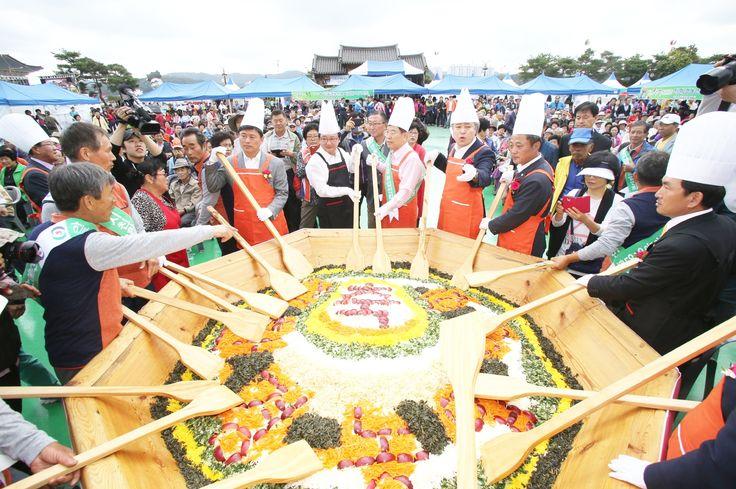 탈춤축제장_2014인분 비빔밥(2014. 10. 1.)
